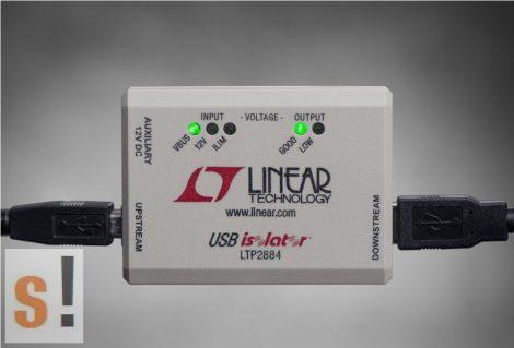 LTP2884 # USB optikai leválasztó adapter/USB Isolator/ 2500Vrms, Linear  Technology