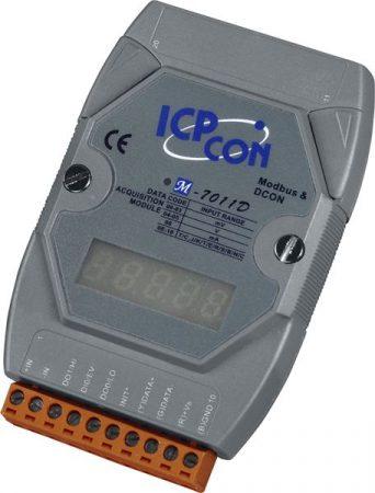 M-7011D # I/O Module/Modbus RTU/1AI/TC/2DO/1DI/LED ICP DAS
