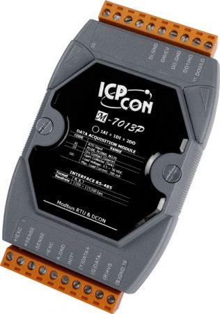 M-7013P # I/O Module/Modbus RTU/1AI/2DO/1DI, DCON, ICP DAS