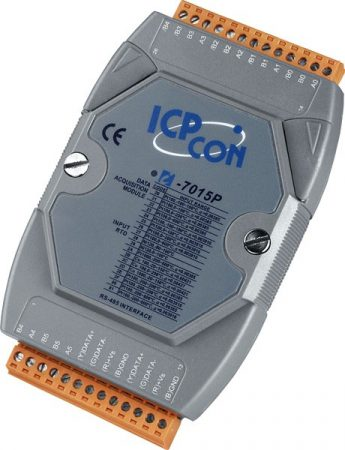 M-7015P # I/O Module/Modbus RTU/DCON/6AI/RTD, ICP DAS