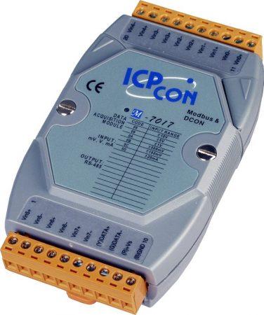 M-7017-G # I/O Module/Modbus RTU/8AI, ICP DAS