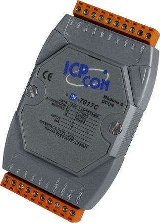 M-7017C-G # I/O Module/Modbus RTU/8AI/Current, ICP DAS