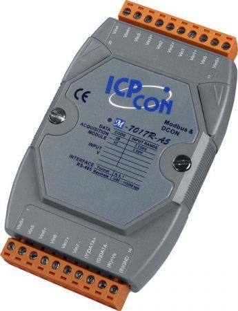 M-7017R-A5 # I/O Module/Modbus RTU/8AI/150V/High prot. , ICP DAS