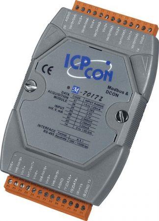 M-7017Z-G # I/O Module/Modbus RTU/10/20AI/High Prot., ICP DAS