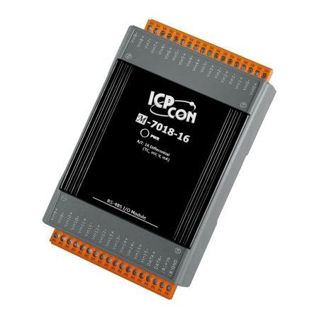 M-7018-16 # I/O Module/Modbus RTU/8AI/TC, ICP DAS