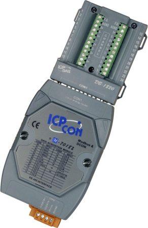 M-7018Z-G/S # I/O Module/Modbus RTU/10AI/TC+Type L-M/DB-1820, ICP DAS