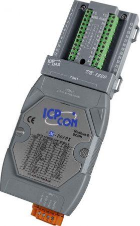 M-7019Z-G/S #  I/O Module/Modbus RTU/10AI/DB-1820, ICP DAS
