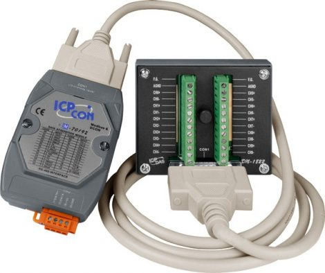M-7019Z-G/S2 # I/O Module/Modbus RTU/10AI/DB-1822, ICP DAS
