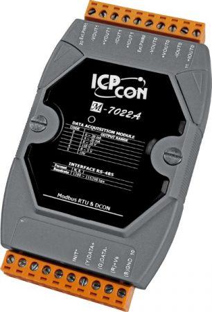 M-7022A # I/O Module/Modbus RTU/DCON/2AO/12bit, ICP DAS