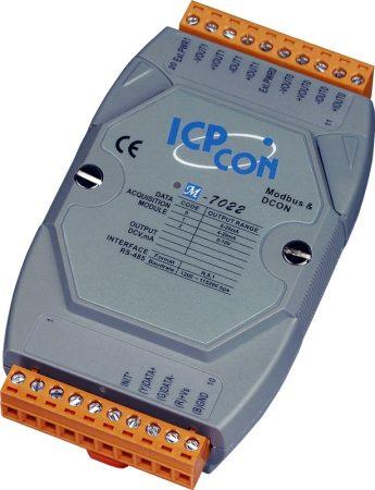M-7022 # I/O Module/Modbus RTU/DCON/2AO/12bit, ICP DAS