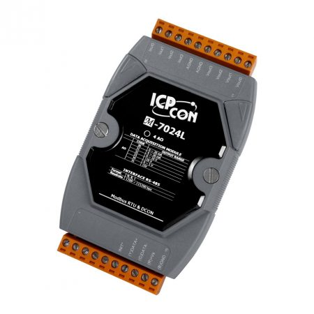 M-7024L #  I/O Module/Modbus RTU/DCON/4AO/12bit, ICP DAS