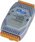M-7033D # I/O Module/Modbus RT/DCON/3AI/RTD, LED, ICP DAS