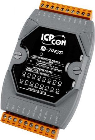 M-7043D # I/O Module/DCON/16DO/O.C/LED, ICP DAS
