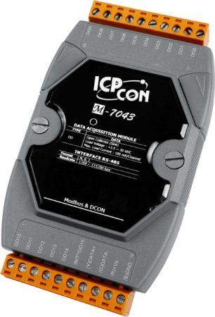 M-7043 # I/O Module/Modbus RTU/DCON/16DO/O.C., ICP DAS