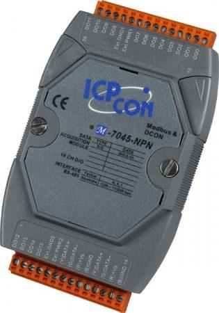 M-7045-NPN # I/O Module/Modbus RTU/DCON/16DO/O.C., ICP DAS