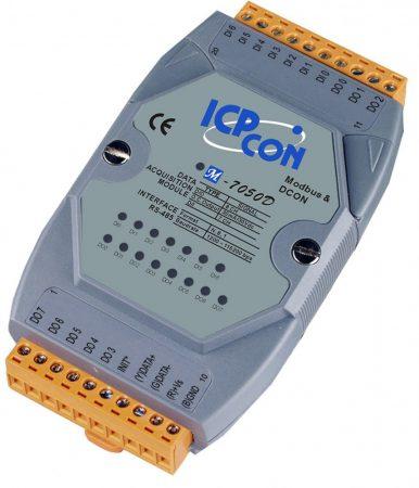 M-7050D # I/O Module/Modbus RTU/DCON/8DO/7DI/LED, ICP DAS, ICP CON