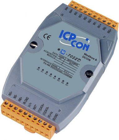 M-7052D # I/O Module/Modbus RTU/DCON/8DI/LED, ICP DAS ICP CON