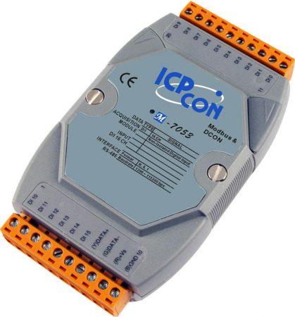 M-7053-G # I/O Module/Modbus RTU/16DI, ICP DAS ICP CON