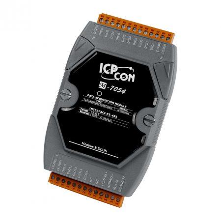 M-7054 # I/O Module/Modbus RTU/16 Universal DI-DO, ICP DAS, ICP CON