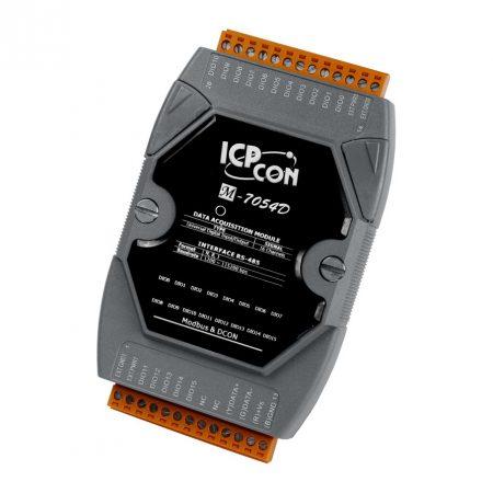 M-7054D # I/O Module/Modbus RTU/16 Universal DI-D/LED, ICP DAS, ICP CON