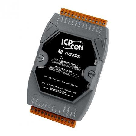 M-7054PD # I/O Module/Modbus RTU/16 Universal DI-D/LED, ICP DAS, ICP CON