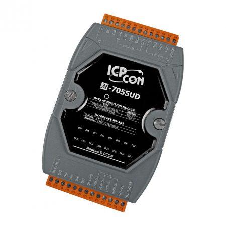 M-7055UD # I/O Modul/Modbus RTU/DCON/8DI/8DO/SINK/SOURCE, ICP DAS, ICP CON