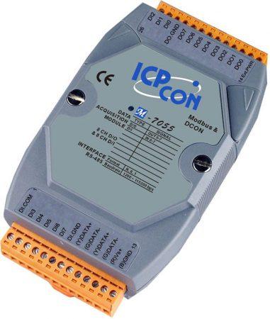 M-7055 # I/O Module/Modbus RTU/DCON/8DI/8DO, ICP DAS, ICP CON