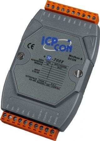 M-7058-G # I/O Module/Modbus RTU/8DI Isol./AC-DC DI/240VAC, ICP DAS, ICP CON