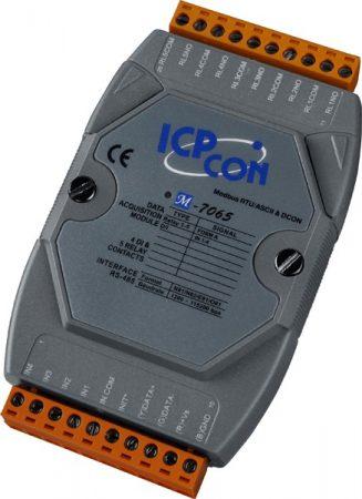 M-7065 # I/O Module/Modbus RTU/5 Relay/4DI, ICP DAS, ICP CON