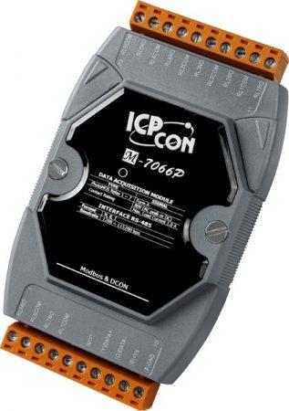 M-7066PD # I/O Module/Modbus RTU/7 Relay Photo Mos/LED, ICP DAS, ICP CON