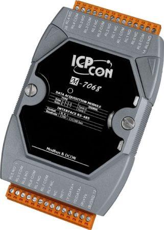M-7068 # I/O Module/Modbus RTU/4 Relay A/4 Relay C/2A, ICP DAS, ICP CON