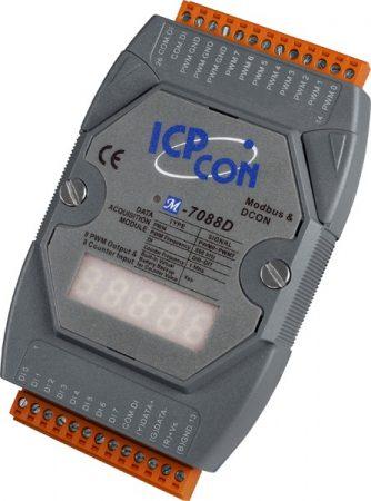 M-7088D # I/O Module/Modbus RTU/8 Counter/8 DO/LED, ICP DAS, ICP CON