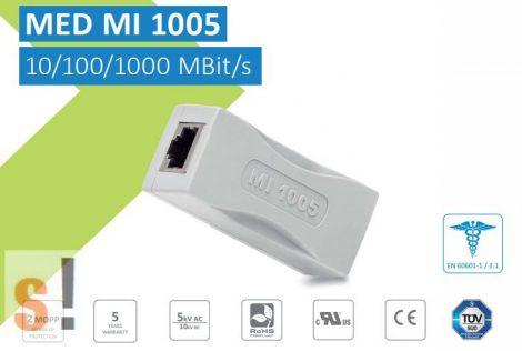 MI 1005 # Ethernet leválasztó, 5 kV, 10/100/1000