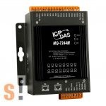 MQ-7244M # Ethernet I/O Modul/MQTT/2 portos Ethernet Switch/8x DI és 8x DO, ICP DAS