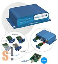 MTCDT-LEU1-210A-EU-GB # LTE mLinux Programozható Gateway GNSS + Wi-Fi/Bluetooth/ EU kiegészítő kit, MultiConnect® ConduitTM, MULTITECH
