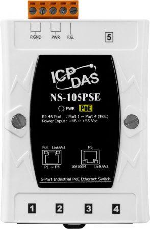 NS-105PSE # PoE Ethernet switch, 5 port, 10/100, ICP DAS