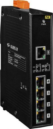 NS-205PSE-24V # PoE Ethernet switch, 10/100, 5 port, 24VDC,  ICP DAS