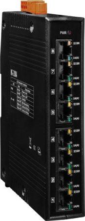 NS-208A # Ethernet switch, 8 port, 10/100 Mbps, +12 VDC ~ +48 VDC, ICP DAS