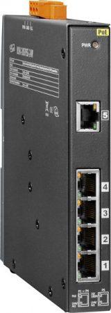 NSM-205PSE-24V # PoE Ethernet switch, 10/100, 5 port, 24VDC, fémház, ICP DAS