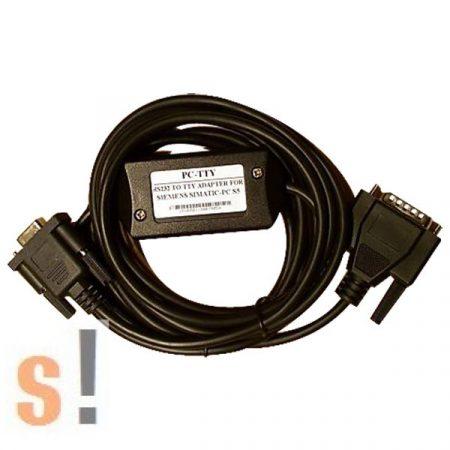 PC-TTY # Siemens S5 PLC programozó kábel/RS-232/TTY/6ES5 734 1BD20