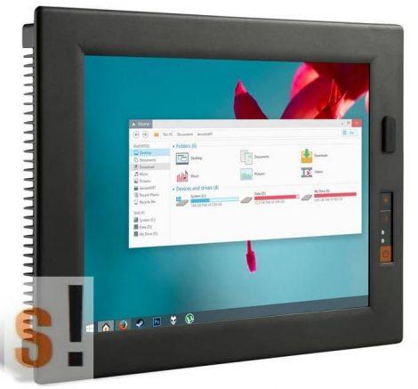 """PC1502 # 15"""" ipari panel PC/Intel Core i5-430UM Processor/1.2 Ghz/4GB RAM/4x RS-232/RS-485/5x USB2.0/2x LAN, Lilliput"""