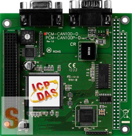 PCM-CAN100-D # CAN kártya/PCI-104/1 port/9 pin D-Sub/szigetelt, ICP DAS