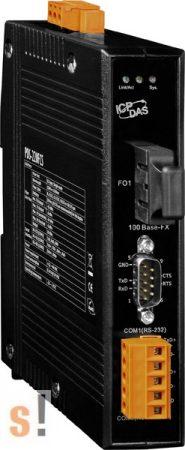 PDS-220FCS-60 # Soros/Üvegszál/Konverter/Programozható/1x RS-232 és 1x 422/485port /Fiber port/Single mód/FC/60km-ICPDAS