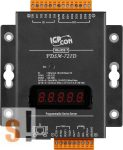 PDSM-721D # Soros/Ethernet/Konverter/Programozható/1x RS-232/1x RS-485/Ethernet/10/100/6x DI/7x DO/fém ház/LED, ICP DAS