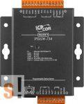 PDSM-734 # Soros/Ethernet/Konverter/Programozható/1x RS-232/1x RS-485/1x RS-422/485 port/Ethernet 10/100/4x DI/4x DO/fém ház, ICPDAS
