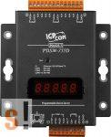 PDSM-755D # Soros/Ethernet/Konverter/Programozható/4x RS-485/1x RS-232 port/Ethernet 10/100/fém ház/LED, ICPDAS