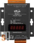 PDSM-762D # Soros/Ethernet/Konverter/Programozható/1x RS-485/5x RS-232 port/Ethernet 10/100/1x DI/2x DO/fém ház/LED, ICPDAS