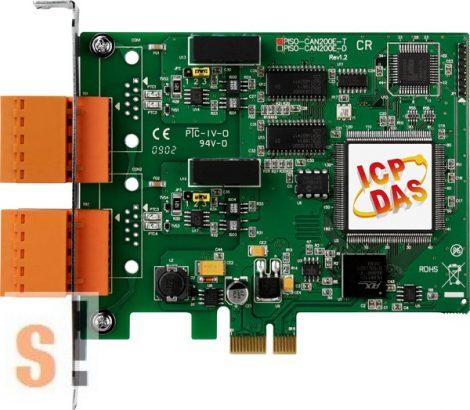 PEX-CAN200i-T  # PCI kártya/Express/CAN/2 port/sorkapocs/szigetelt, ICP DAS