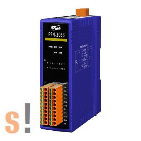 PFN-2053 # PROFINET I/O Module/16DI/nem szigetelt, ICP DAS
