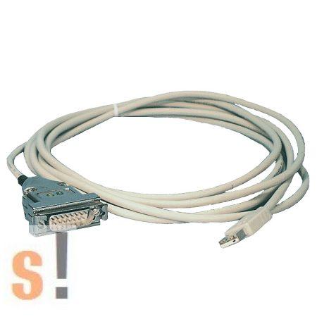 PG-USB # 9359-1 PG-USB kábel/ Siemens S5 PLC USB programozó kábel/ S5 PLC USB konverter/USB - TTY konverter